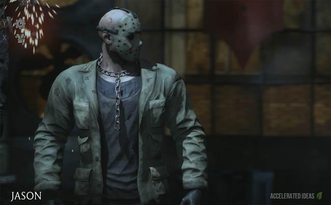 Jason select screen