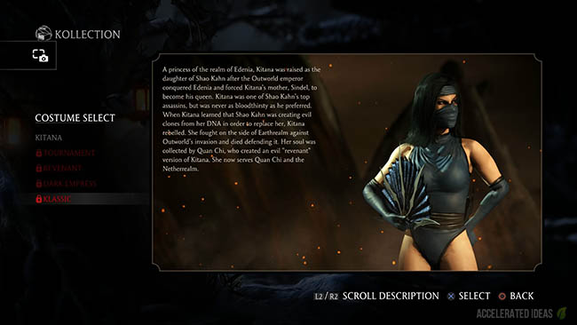 Mortal Kombat X How To Unlock Alternate Costumes Skins