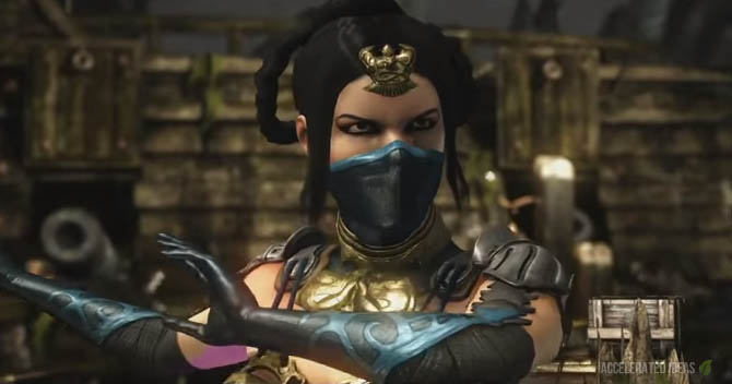 Mortal Kombat X - Kitana Variations, Fatalities and Brutalities