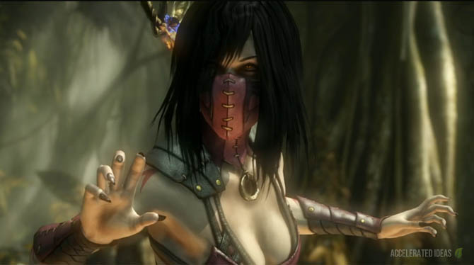 Mortal Kombat X Mileena Variations Fatalities And Brutalities