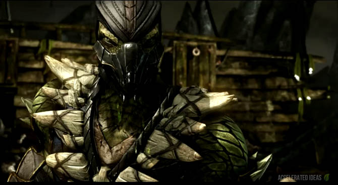 Mortal Kombat X - Reptile Variations, Fatalities and Brutalities