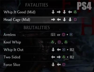 Mortal Kombat X Takeda Variations Fatalities And Brutalities
