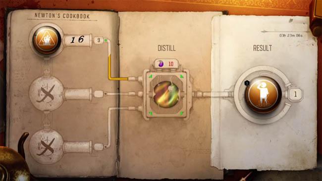 Cookbook process in-game