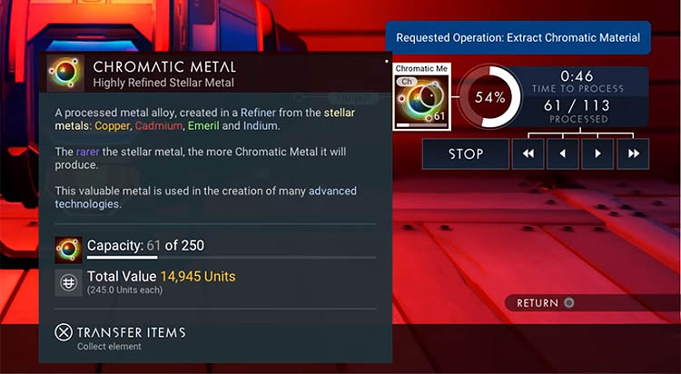No Mans Sky - How to Get Chromatic Metal