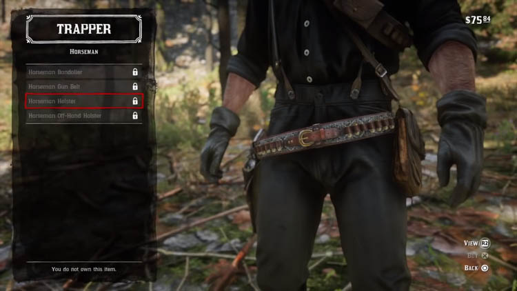 Red Dead Redemption 2 - How to Unlock Reinforced Equipment and Set Bonuses