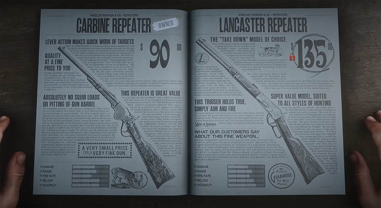 Red Dead Redemption 2 - Tips to Stop Weapons Degrading