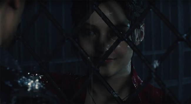 Claire cutscene