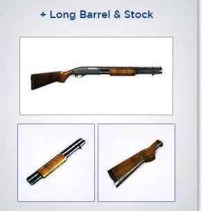 Shotgun (Remington 870)
