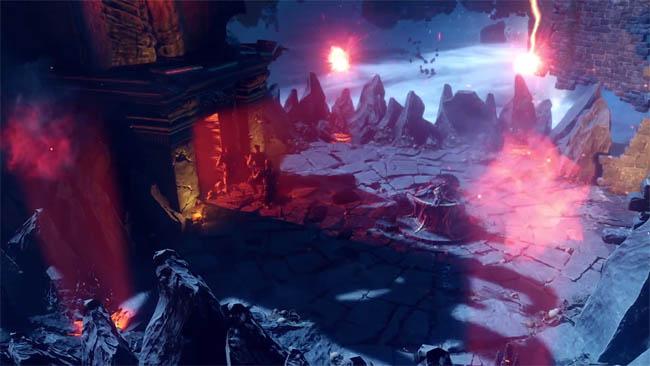 Portal/Temple area