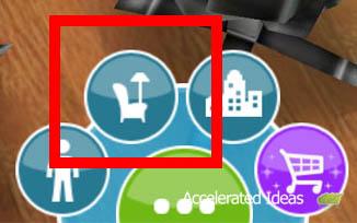Sims Freeplay - loja de móveis