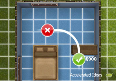 Sims Freeplay - Casa