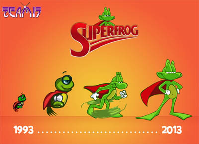 Amiga Superfrog Coming to PSN, PS3 and Vita
