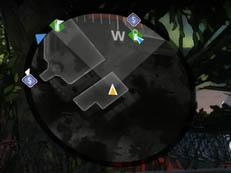 Battery on mini-map