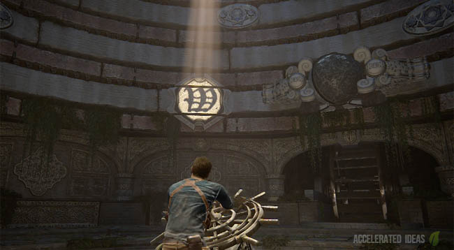 Uncharted 4 Chapter 12 Puzzle Solution Rotating Balls And