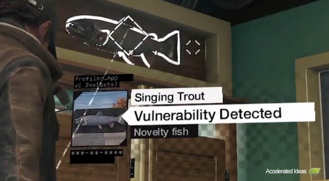 Watch Dogs - Singing Trout Easter Egg