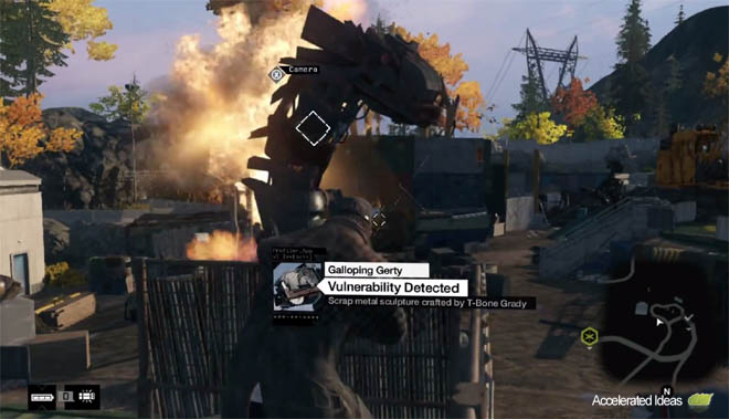 Watch Dogs - Scrapyard location