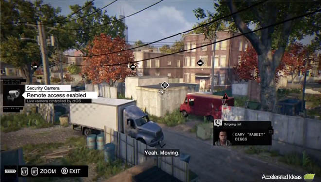 Watch Dogs street fight