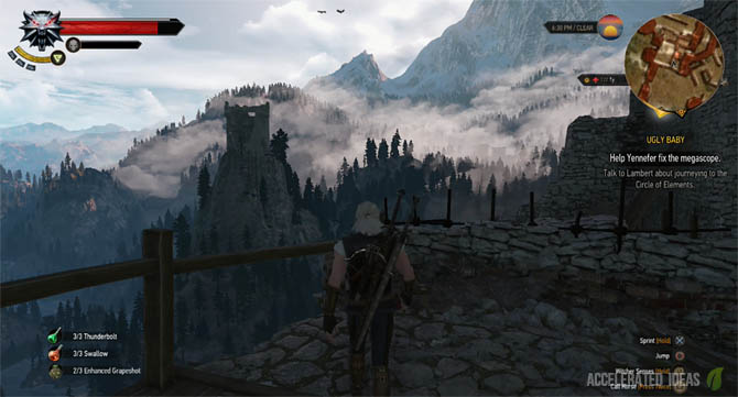 Witcher 3 - Ursine Upgrade Diagram Locations (Enhanced, Superior, Mastercrafted)