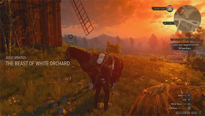 Witcher 3 Walkthrough - The Beast of White Orchard