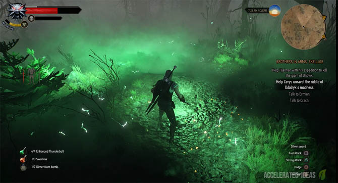 Witcher 3 - Which Bombs are the Best