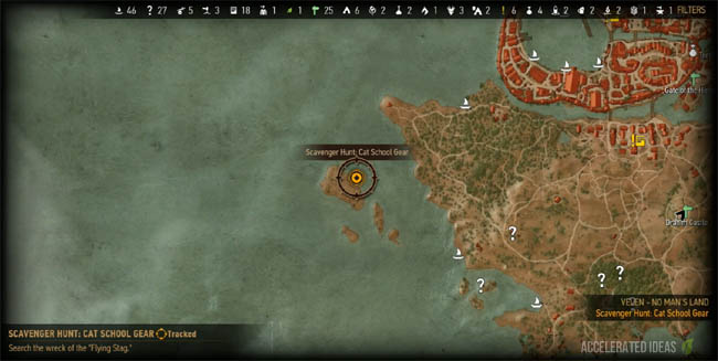 Witcher 3 Walkthrough Cat School Gear Quest Accelerated Ideas