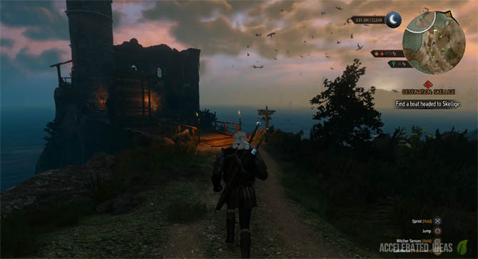 Witcher 3 Walkthrough - Griffin School Gear Quest