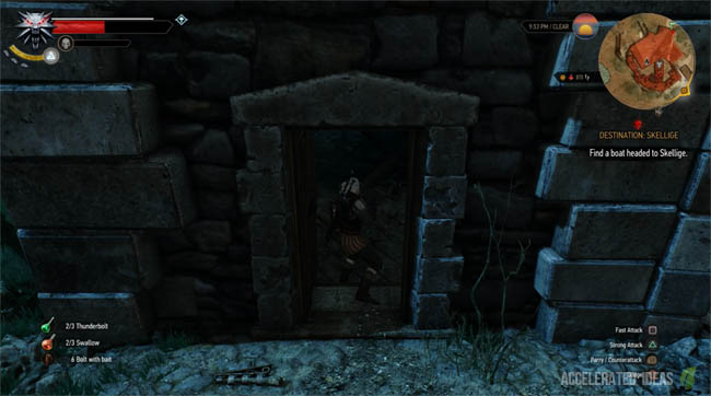 Witcher 3 Walkthrough Griffin School Gear Quest Accelerated Ideas