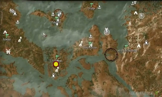 Witcher 3 - Griffin Upgrade Diagram Locations (Enhanced, Superior ...