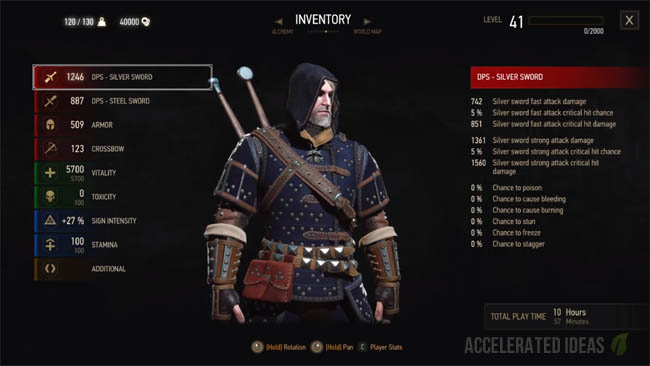 Witcher 3 Blood & Wine: Grandmaster Armour and Weapons | Accelerated