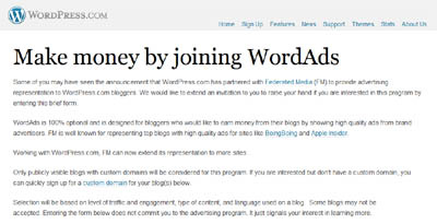 Wordpress Wordads A Real Alternative To Adsense Accelerated Ideas