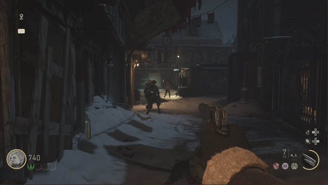 WW2 zombies gameplay screenshot