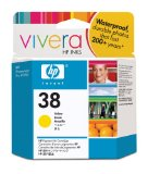 Imagen para Original HP 38 Yellow Pigment Ink Cartridge in Retail Packaging