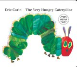 The Very Hungry Caterpillar: livro de bordo e CD